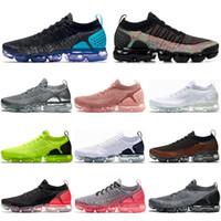 Fly 2.0 ao ar livre respirável Homens Mulheres Sapatos Hot perfurador Preto Multicolor Chrome mens treinadores desportivos sneakers US5.5-11