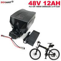 Электрический велосипед батареи 13S 48v 12ah E-Bike литиевая батарея для Bafang 450W 800W 1200W мотор с 2A зарядное устройство Бесплатная доставка