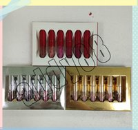 New KL MINI Lipgloss Birthday Holiday Edition Lip Kit Gold S...