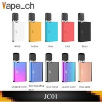 Authentic OVNS JC01 Pod Kit 400mAh Flat Box Mod Vaporizer Wi...