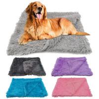 Velo Pet Mantas Fluffy Cat Dog Bed Mats profunda dormir capas moles Verão finas inverno para cães pequenos grandes Sólidos Cat Colchão