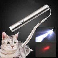 Forme ronde portable camping en plein air lune lampe torche en acier inoxydable haute puissance Mini pointeur laser LED lampe torche lampe torche