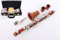 Yinfente Professional Clarinet Rosewood Clarinet Silver Platedb Key 17 Key Clarinet Case