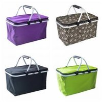 Picnic lunch bag Outdoor foldable blankets keep food fresh w...
