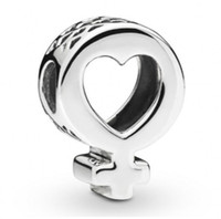 New Authentic 925 Sterling Silver Bead Charm Openwork Radian...