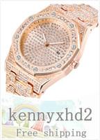 새로운 트렌드 야생 다이아몬드 시계 남성 패션 달력 석영 시계 폭발 모델