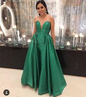 Dark Green Prom Dresses for Women 2019 Mermaid Long Dress Pa...