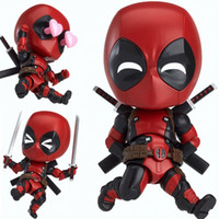 Q-Version Deadpool Marvel Hero Deadpool 2 bewegliches Puppenmodell Spielzeug