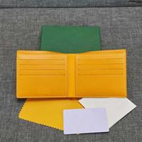 Mens Luxus Mappen hochwertige kurze Brieftasche Frauen gy-Card-Inhaber paris Stil Modemarke Geldbörsen Designer-Kartenpaket mit Box