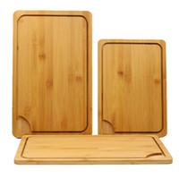 Kurul DH1296 T03 Kesme Fonksiyonlu Bambu Kesme Blokları Cut Ekmek Tatlı Steak Doğrama Plakalı Japon Mutfak Antibakteriyel