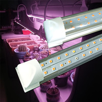 T8 LED تنمو الأنوار 1ft 2ft 3ft 4ft، عالية الناتج النبات تنمو قطاع الضوء، استبدال ضوء الشمس الطيف الكامل مع ارتفاع قدم المساواة للنباتات الداخلية