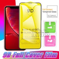 9D Tempered Glass Screen Protector for iPhone XS MAX XR X 8 ...