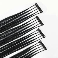 2020 Новые 6D-2 Наращивания волос Кутикулы Выравниваются Virgin Hair Я Наклон Micro Loop Extensions Человеческие Волосы 100 г 100strands Полная головка в течение 30 минут