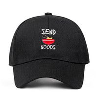 Embroidery Send Noods Unstructured Baseball Cap Dad Hat Gift...