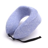 U- shaped pillow memory foam pillow neck soft cushion pillow ...