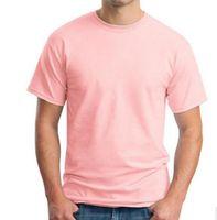 Ragazzi T Shirt New Summer Men Modal T Shirt Solid T Shirt Blank Pure Color Casual Tees Plain 100% cotone o-collo manica corta T-shirt XXL