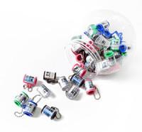 플라스틱 시가 커터 가위 나이프 흡연 액세서리 파이프 블런트 스플리터 키 체인 담배 공구 클리너 팁 도구 오일 링 패션
