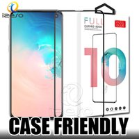 5D Full Glue Tempered Glass Coverage Displayschutzfolie für Samsung A10 A50 A70 A80 iPhone XS MAX XR Huawei P30 mit Retaill-Verpackung