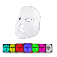 Красотки фотона Сид лицевая маска лечения 7 цветов света уход за кожей омоложение акне удаление морщин лица красоты спа инструмент