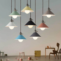 Simple led Pendant Lights 220V 40W Modern Macaron led Pendan...