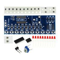 Smart Electronics Kits NE555 + CD4017 Licht Water Flowing Licht LED-module DIY Kit