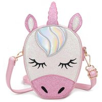 Unicorn Shoulder Bag Lovely Kids Coins Keys Handbag School B...