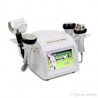 6 in1 40K Cavitation vide anti-âge Multipolaire tripolaire RF BIO Hotcold Hammmerlaser corps machine Slim