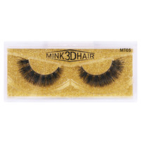 Dropshipping New Real 3D Vison Cils Mink Lashes Faux Cils 100% naturel sans cruauté doux court épais Faux Cils Cils