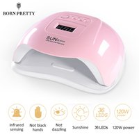 BORN PRETTY UV LED Nail Lamp For Drying All Gel Nail Polish ...