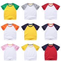 Online Shopping Baby Raglan T Unisex Baby Cotton T Shirts Cassical Short Sleeve Kleinkind Günstige Plain-T-Shirts 19080501
