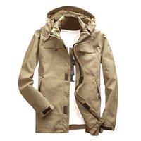 Jacket Coat Luxury Fashion Men's Autumn Winter Sport Outdoor Windbreaker Thick Warm Patchwork Long Sleeve Outerwear Plus Size