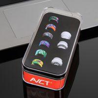 Drip Tip Kit Epoxidharz-Set AVCT Vape 810 510 Gewinde Austauschbare Anschluss innovatives Mundstück Kits