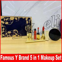 Famous Y Brand Makeup Set 5 in 1 Cosmetic Kit Liquid lipstic...