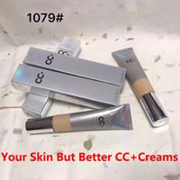 Marca médio luz BB CC + Cremes 1079 # Prata UVA Maquiagem UVB 50+ Cobertura da Base extrema Covering CC + líquido Foundation Primer A mais alta qualidade