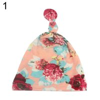 Flower Butterfly Print Toddler Baby Girl Turban Cap Elastic ...