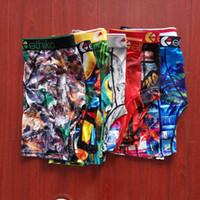 Em estoque mens desenhador cueca cueca boxers shorts homens macho swimwear homens calças de praia confortável respirável cuecas boxer