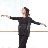 Adult Loose Oriental Latin Belly Dance Top Transparent Blouse Shirt Costume for Sale Women Dancing Clothes Dancer Wear Clothing
