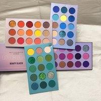 Güzellik Camlı Göz Farı Paleti 60 Renk Göz Farı Glitter Nü Işıltılı Mat Makyaj Göz Farı Renk Kurulu Paleti Marka Kozmetik SICAK