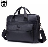 Modelli di esplosioni di tendenza europea e americana Borsa da uomo Borsa da uomo Business Briefcase First Layer Leather Computer Hand Mestolo Messenger