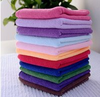 10pcs Square Soft Microfiber Towel Car Cleaning Wash Clean C...