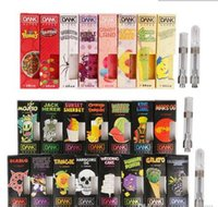 NEW Dank Vapes Cartridge New Black Pack 510 Thread 1. 0ml 1 G...