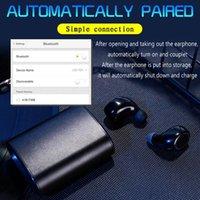 A18 TWS 블루투스 이어폰 알루미늄 합금 스포츠 지문 터치 HD 스테레오 헤드폰 무선 이어폰 블루투스 5.0 미니 헤드셋 새로운
