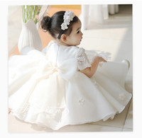 New Baby Girl Dress Pageant Flower Toddler Girls Party Tutu ...