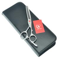 """Meisha 5.5 """"6.0"""" Tijeras de adelgazamiento de cabello profesional para recortar Japón 440c Cortas de corte de pelo de cizallas de salón Herramienta de peinado Razoras afiladas HE0051"""