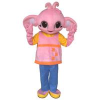 Heißer verkauf sula maskottchen kostüm bing bunny elefanten maskottchen kostüm kostüm für erwachsene halloween party event