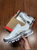 Acquista Nike Air Max 97 Shoes Metallic Pack 97 97s QS Scarpe Da ... f8c7f3149e9