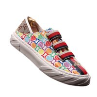 Men' s Shoes oxford shoes Fashion Loafers Men printing L...