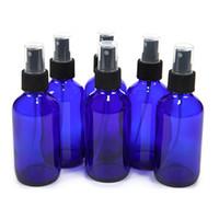 Épaisseur 30ml 1Oz bleu de cobalt atomiseur de brume fine en verre bouteille vaporisateur parfum rechargeable bouteille vide en verre pour huile essentielle d'aromathérapie