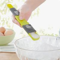 Escala ajustável de medição Escala ajustável Colher New Duplo End colher de medição ferramenta da cozinha criativa de medição Colher