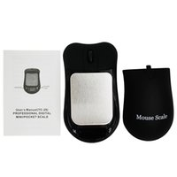 Escala de jóias Digital Mouse Escala tamanho de bolso preto Escala de jóias de precisão Digital LCD Digital pessoal, escalas de peso de equilíbrio de ouro de diamante